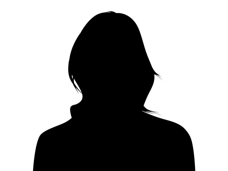 A Female Silhouette